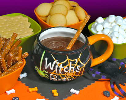 Witch's Cauldron Chocolate Dip