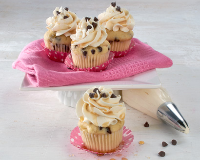 Maple Chocolate Chip Mini Cupcakes