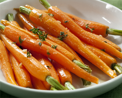 Agave Glazed Carrots