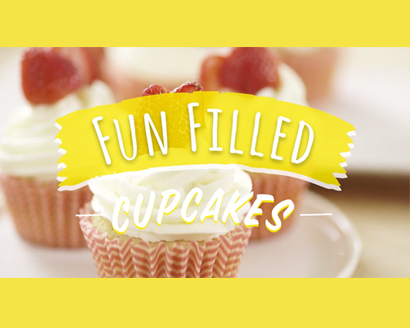 Fun-Filled Cupcakes