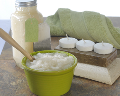 Green Tea Sugar Scrub