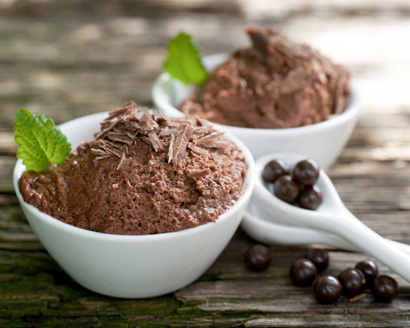 Mocha Chocolate Mousse