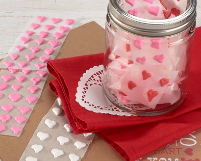 Heart Button Candy