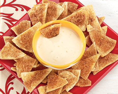 Honey Cinnamon Pita Chips