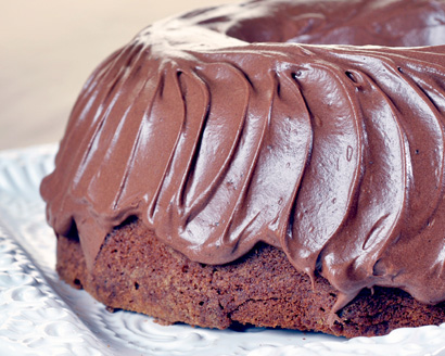 All-in-One Chocolate Cake and Frosting