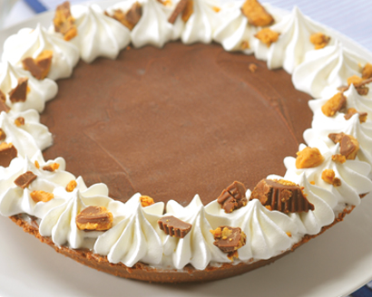 Frozen Peanut Butter Candy Pie