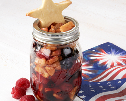 Star Spangled Summer Fruit Cobbler