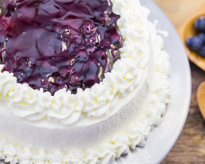 Blueberry Delight With Angel Food Cake