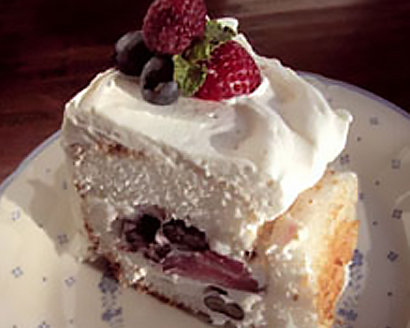 Berries and Cream Mousse Cake