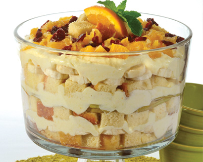 Winter Fruit Trifle