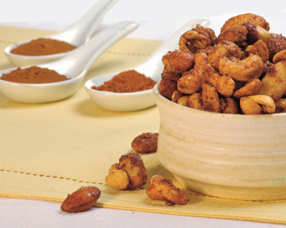 Sweet and Spiced Nuts