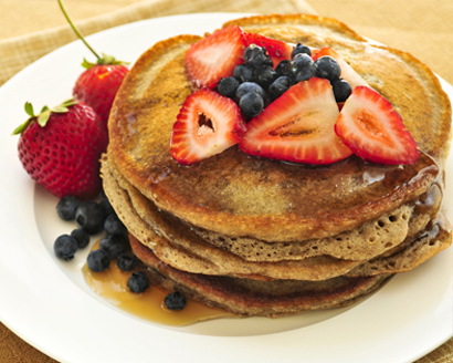 Overnight Oatmeal Pancakes