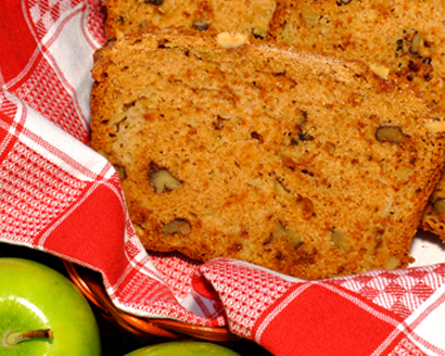 Fresh Apple Nut Bread with Streusel Topping