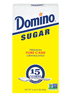 Granulated Sugar 1LB Box