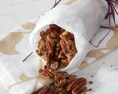 Toasted Candied Pecans