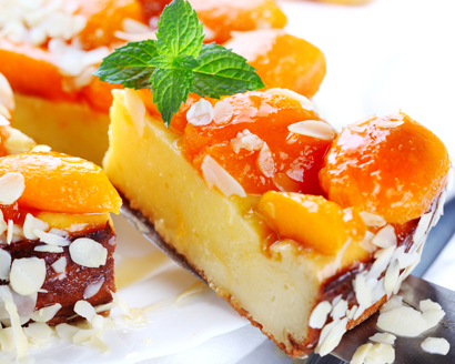 Apricot Cheese Tart