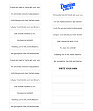 picture about Printable Fortune Cookie Sayings titled Fortune cookie printable