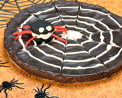 Spider Web Brownie