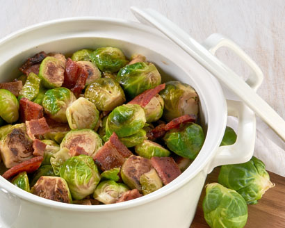 Brown Sugar Bacon Brussels Sprouts