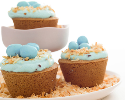 Robin's Nest Cookie Cannoli Cups
