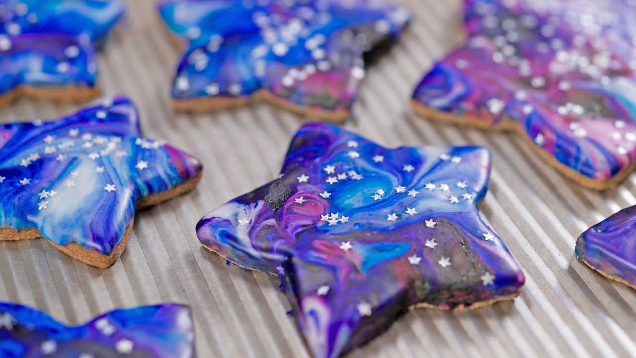 Chocolate Cosmic Cookies