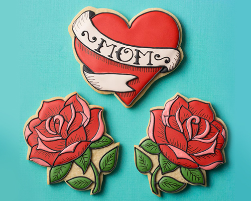 SweetAmbs®: Mother's Day Tattoo Cookies