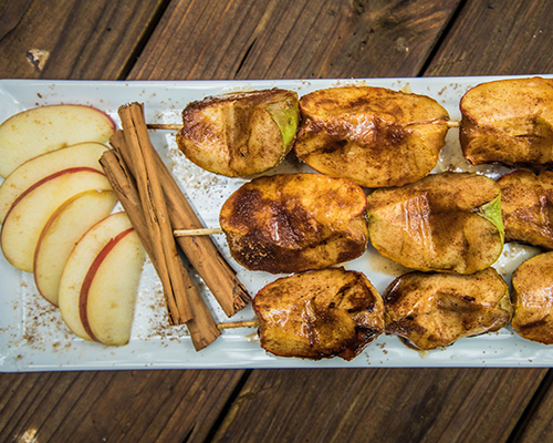 Campfire Roasted Apples