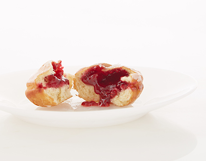 Jell-Filled Doughnuts