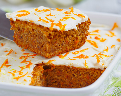 Carrot Orange Coconut Cake