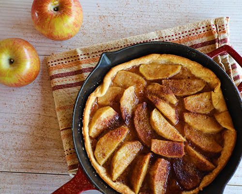 Apple Skillet Pie