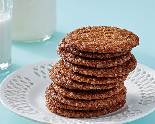 Molasses-Ginger Snaps