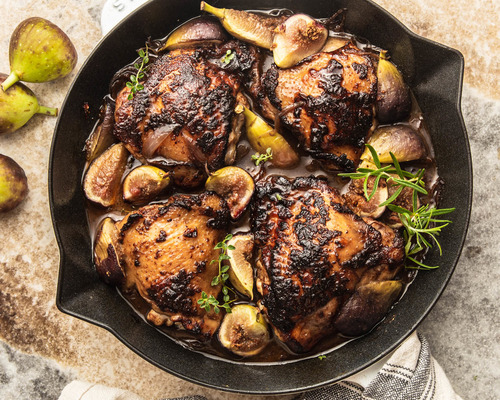 Roasted Fig Chicken