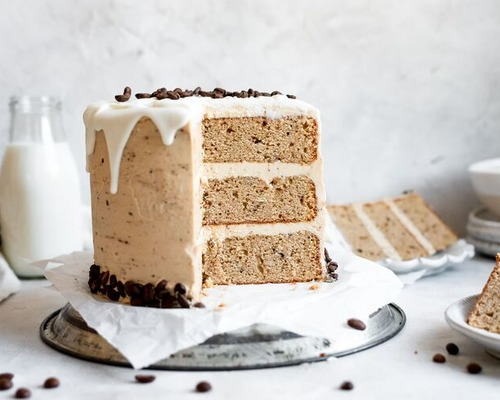 White Chocolate Mocha Cake